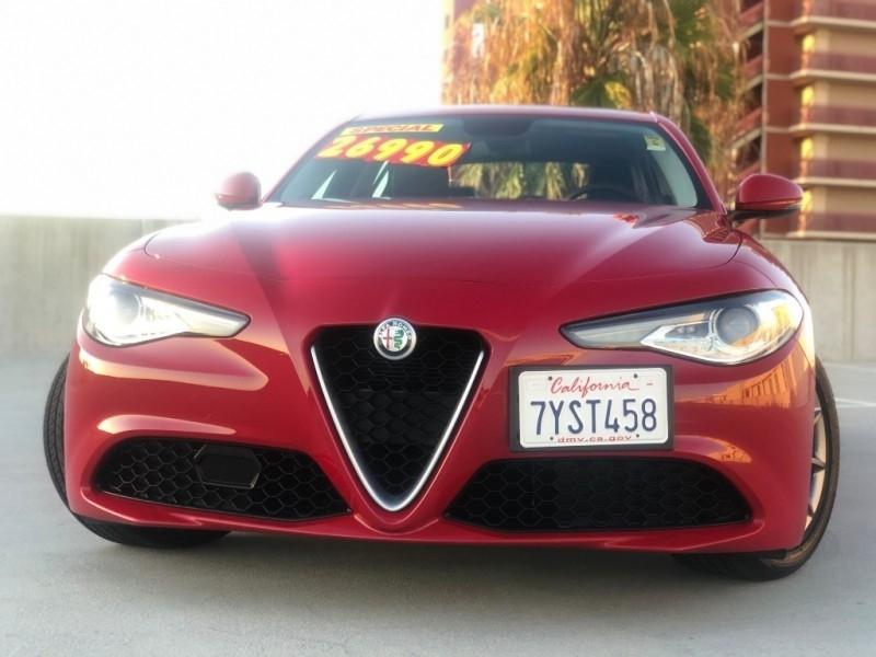Alfa Romeo Giulia 2017 price $24,995