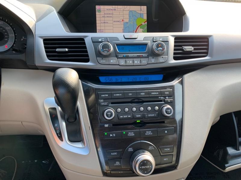Honda Odyssey Touring Elite 2012 price $12,250
