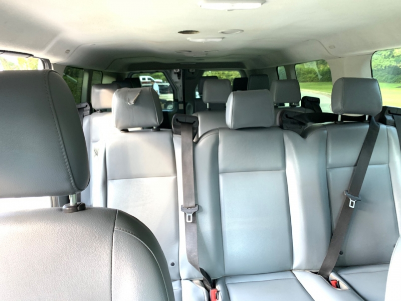 Ford Transit Low Roof LWB RWD with 60/40 Passenger-Side 2018 price $23,495