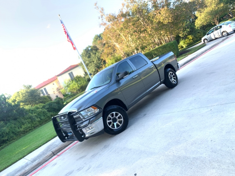 RAM 1500 Big Horn 1500 4WD 2012 price $15,495
