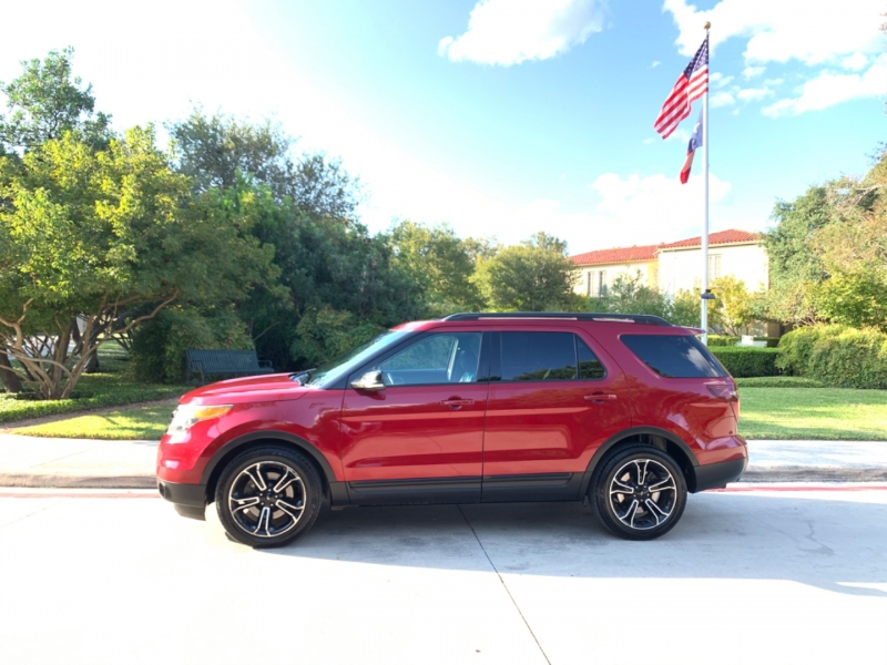 Ford Explorer sport 4WD 2015 price $19,495