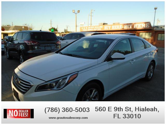 Hyundai Sonata 2016 price $8,360