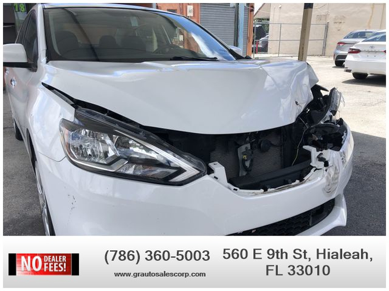 Nissan Sentra 2018 price $4,000