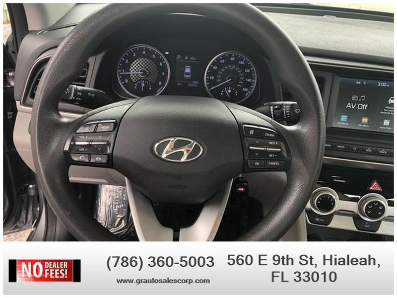Hyundai Elantra 2019 price $14,495