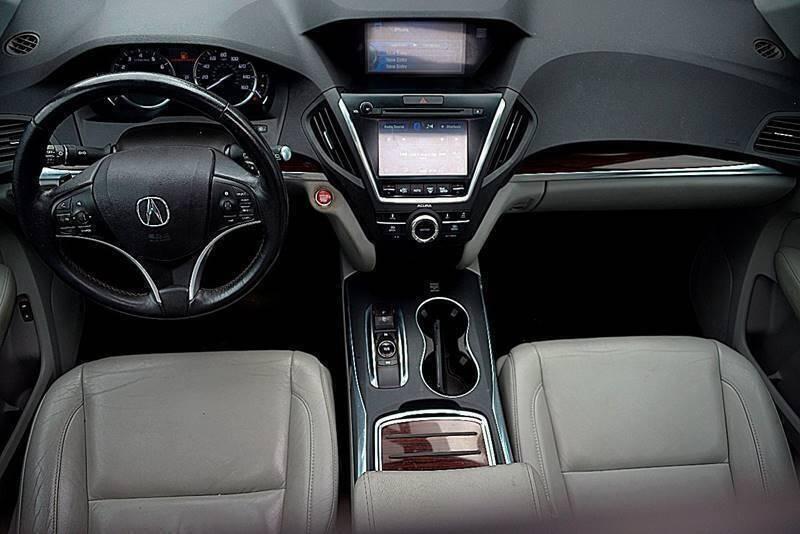 Acura MDX 2016 price $23,500