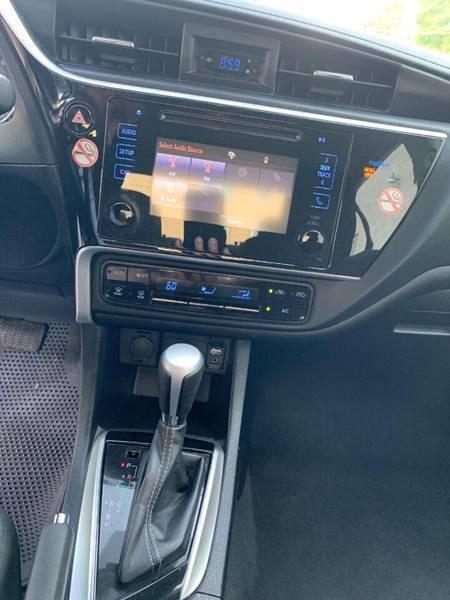 Toyota Corolla 2018 price $17,560