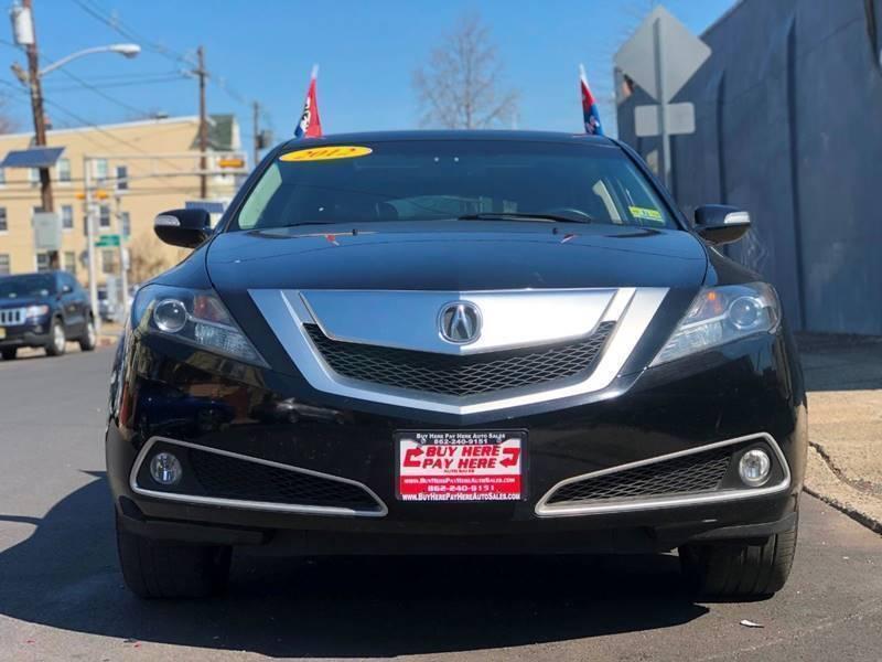 Acura ZDX 2012 price $22,599