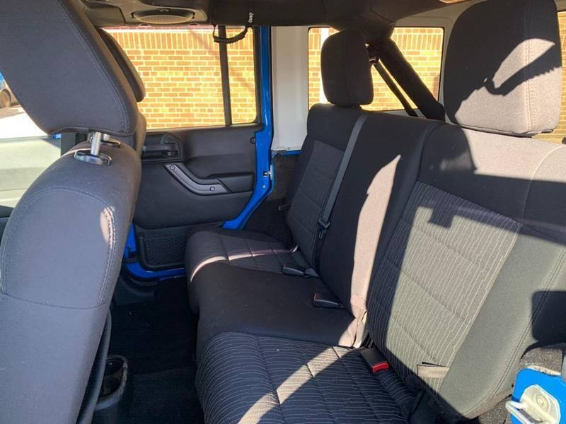 Jeep Wrangler Unlimited 2011 price $499