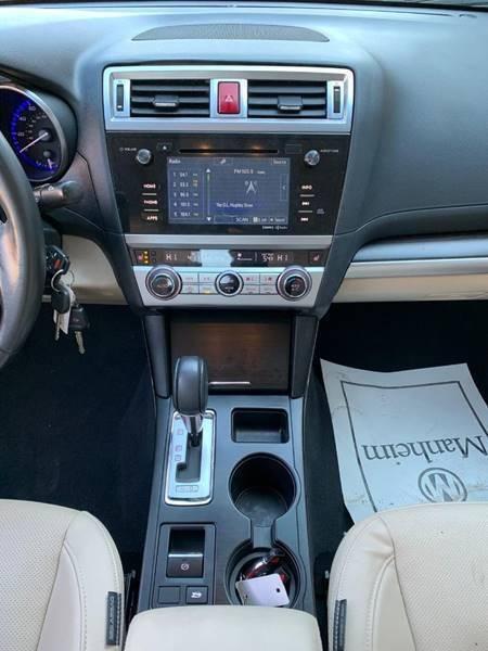 Subaru Legacy 2016 price $14,850