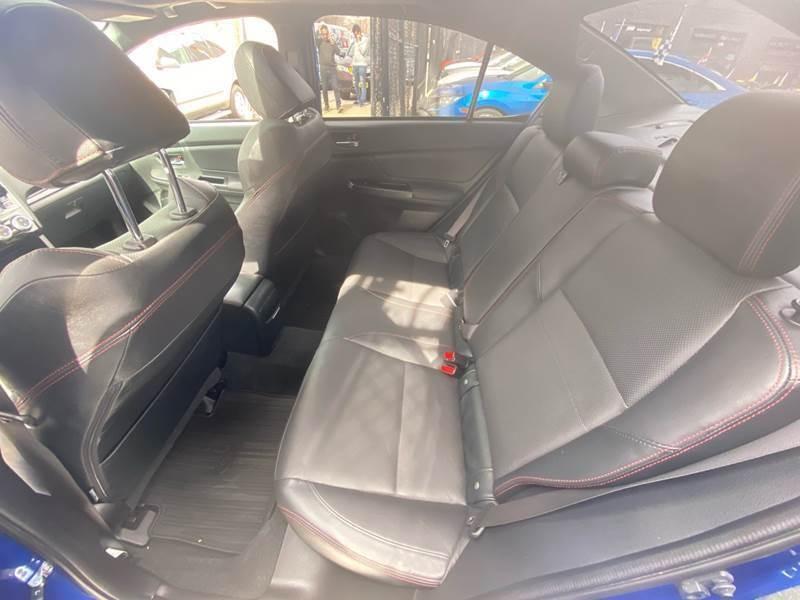 Subaru WRX 2016 price $20,500