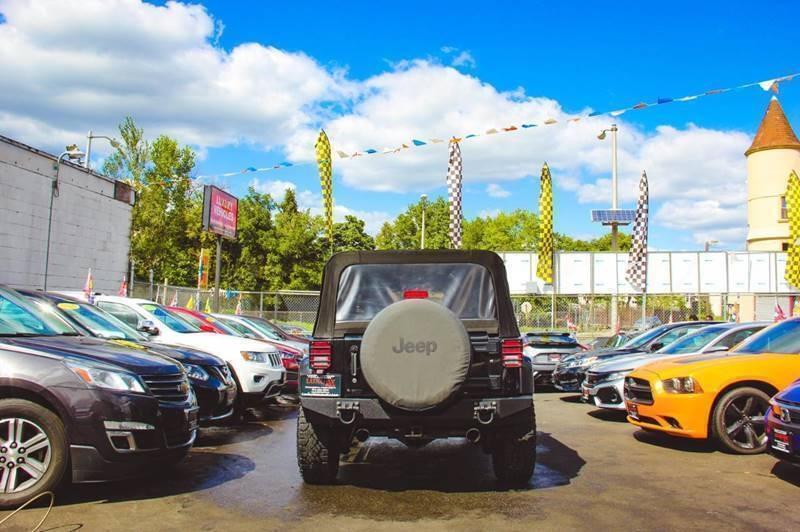 Jeep Wrangler Unlimited 2013 price $499
