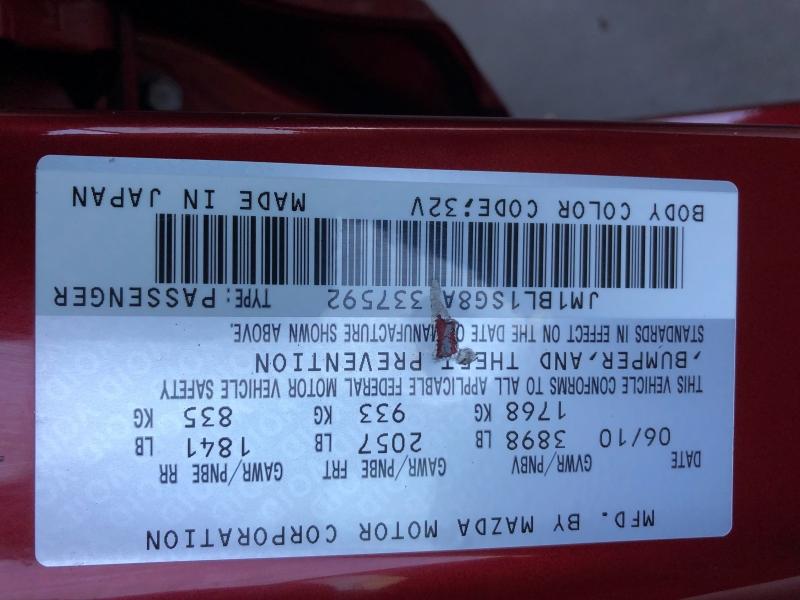 Mazda Mazda3 2010 price $5,250