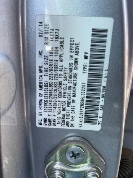 Honda Crosstour 2014 price $8,990