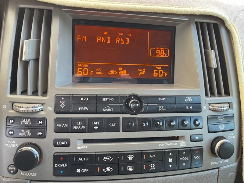 Infiniti FX35 2005 price $7,990