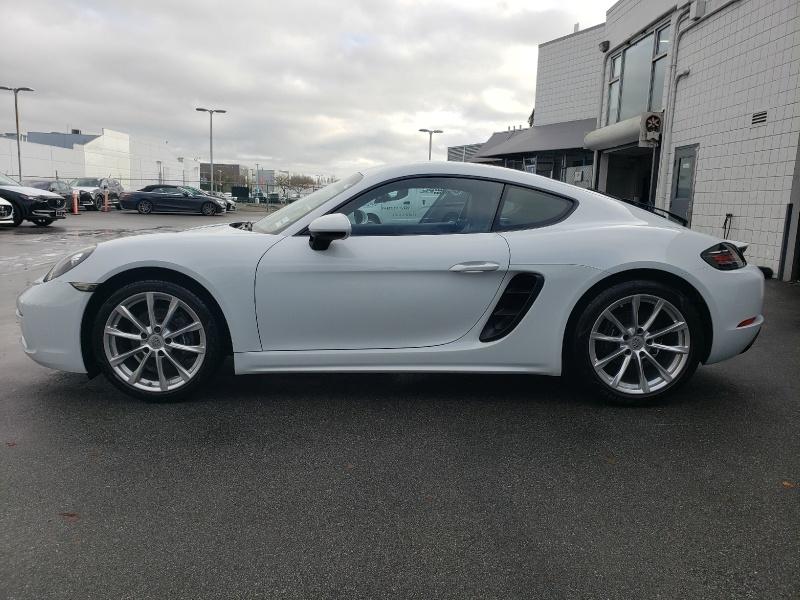 Porsche 718 Cayman 2018 price $72,995