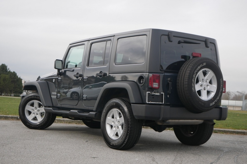 Jeep Wrangler Unlimited 2017 price $43,963