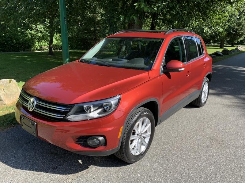 Volkswagen Tiguan 2015 price $17,950