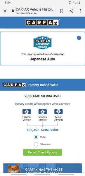 GMC Sierra 3500HD 2005 price $19,995