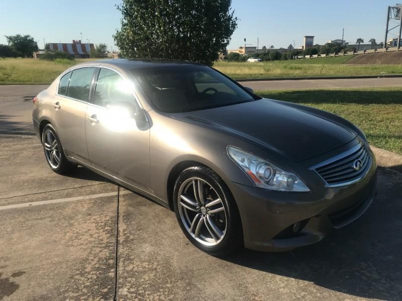 2011 Infiniti G37 Sedan 4dr X Awd Prime Auto Finance Dealership In Houston