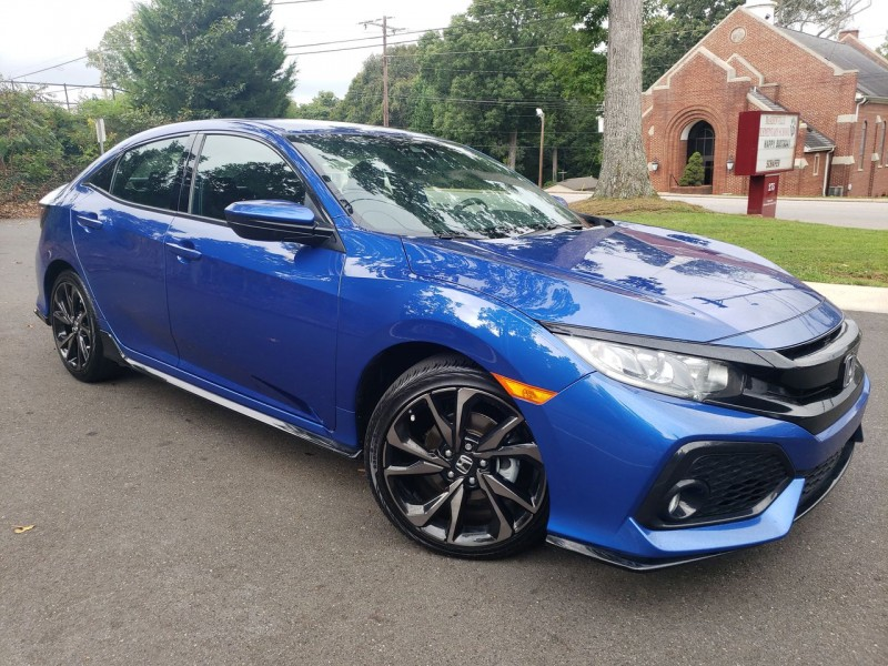 Honda Civic Hatchback 2019 price $21,800