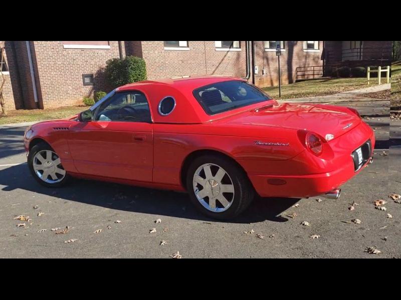 Ford Thunderbird 2003 price $16,900