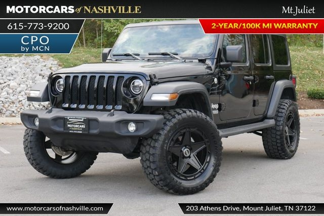 Jeep Wrangler Unlimited 2019 price $35,998