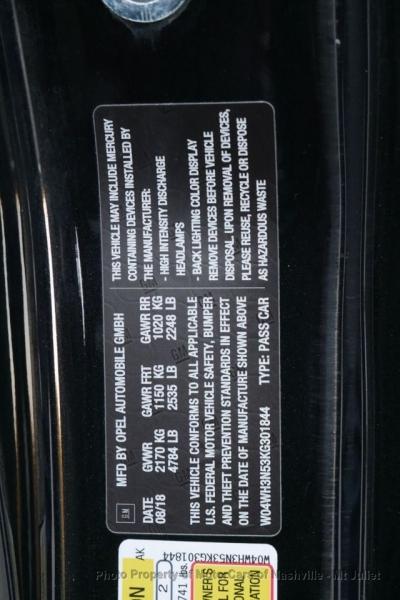 Buick Cascada 2019 price $22,998