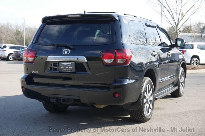 Toyota Sequoia 2018 price $39,998