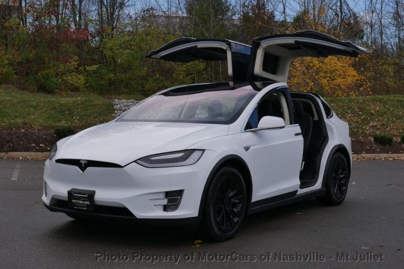 Tesla Model X 2016 price $49,899