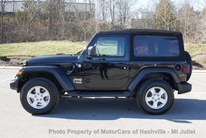 Jeep Wrangler 2020 price $32,699