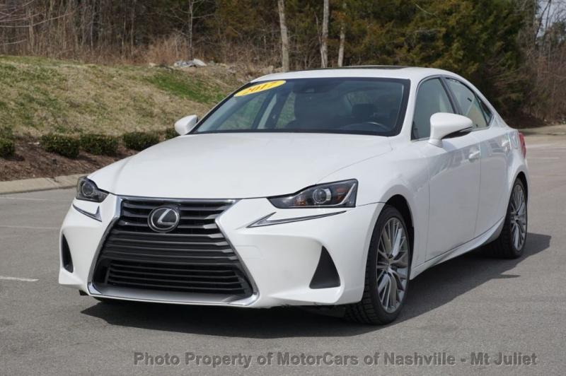 Lexus IS 2017 price $22,998
