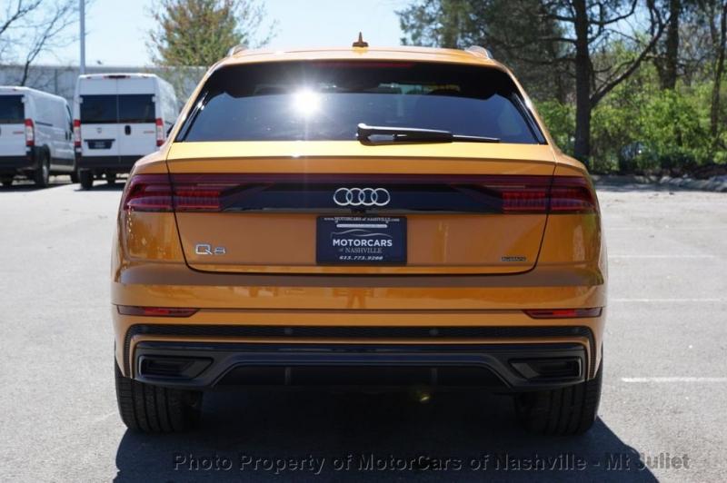 Audi Q8 2019 price $68,998