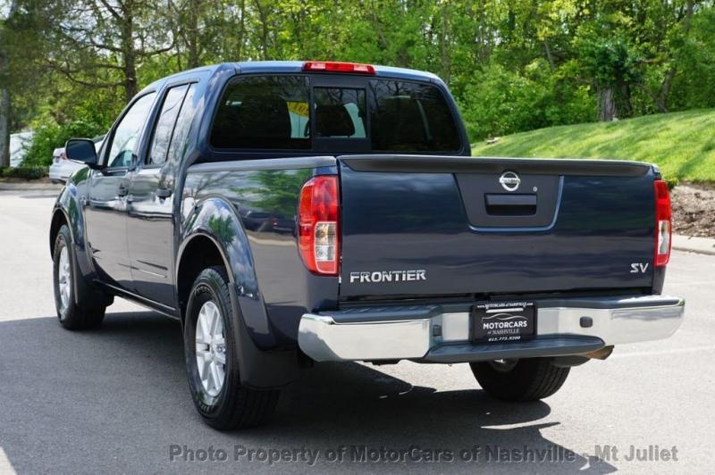 Nissan Frontier 2017 price $20,599