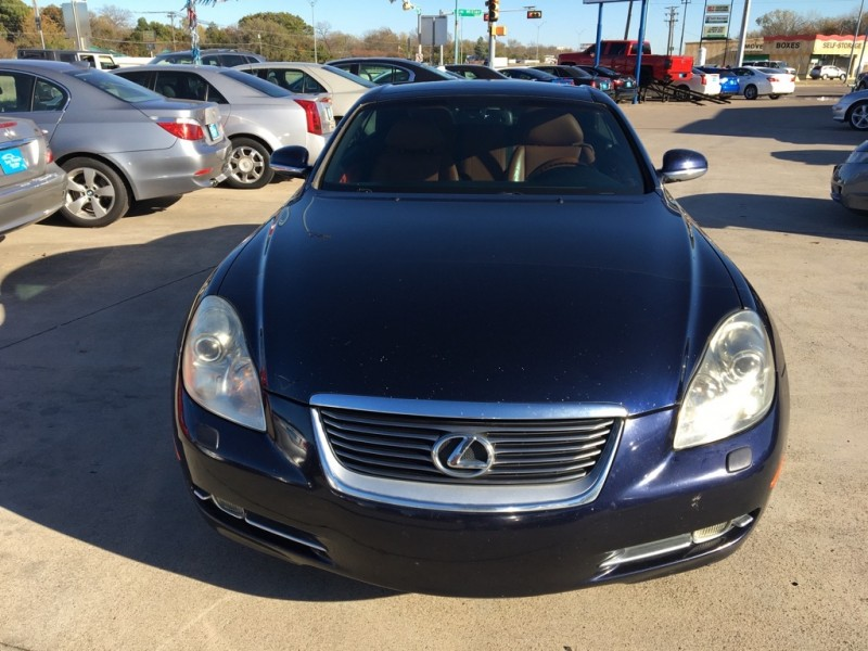 LEXUS SC 430 2007 price $10,000