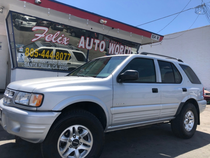 Isuzu Rodeo 2002 price $3,995