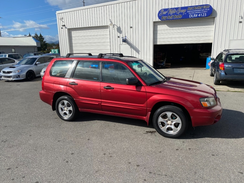 SUBARU FORESTER XS LOADED 5SPD NEW TIRES RARE! 2003 price $6,300