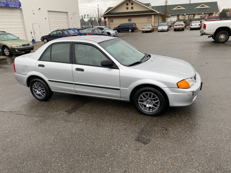 MAZDA PROTEGE RUNS GREAT! BRAND NEW RIMS AND TIRES 1999 price $2,100