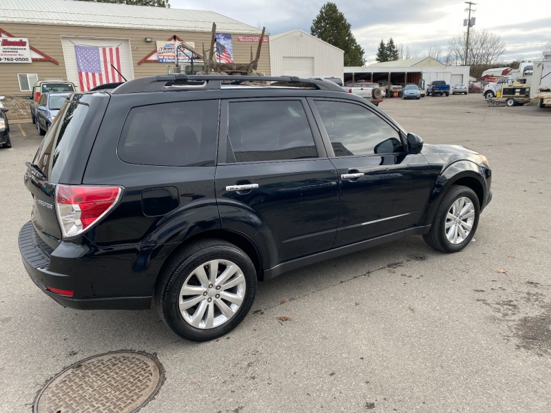 SUBARU FORESTER PREMIUM 1 OWNER BLACK ON BLACK 2013 price $9,025