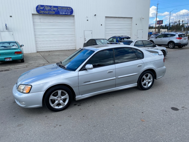 Subaru Legacy GT Limited 2002 price $4,700