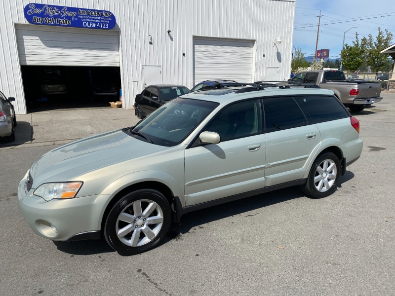 SUBARU OUTBACK WAGON LIMITED 1 OWNER NICE!! 2006 price $5,300