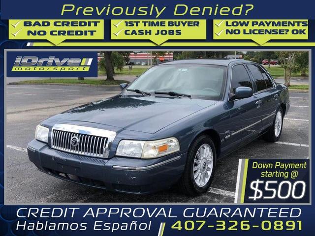 Mercury Grand Marquis 2009 price $3,588