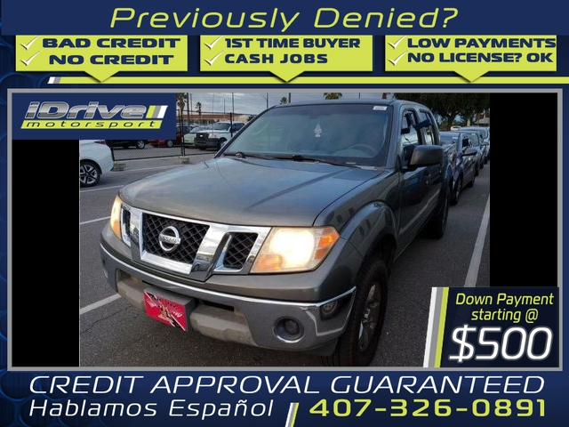 Nissan Frontier Crew Cab 2009 price $7,488