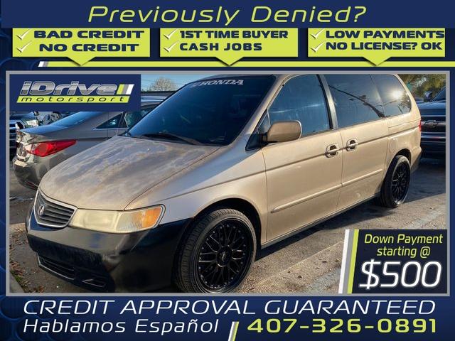 Honda Odyssey 2001 price $2,488