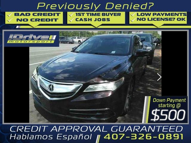 Acura TLX 2015 price $14,888