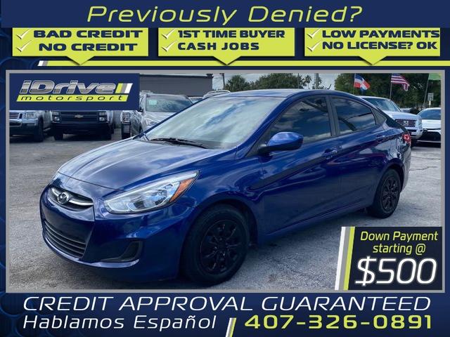 Hyundai Accent 2015 price $8,488