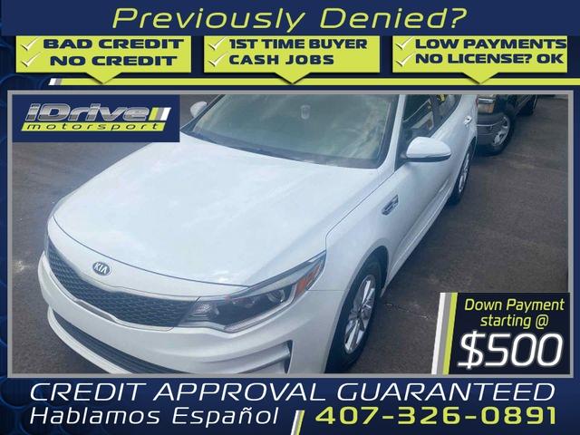 Kia Optima 2016 price $13,888