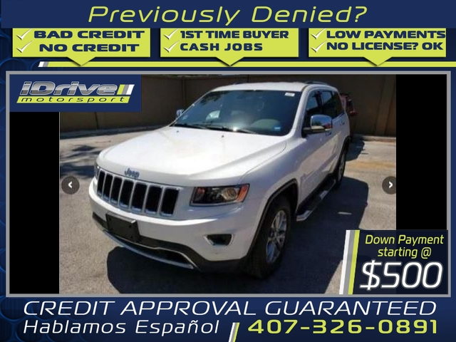 Jeep Grand Cherokee 2015 price $23,888