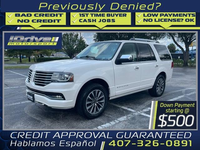 Lincoln Navigator 2015 price $22,888