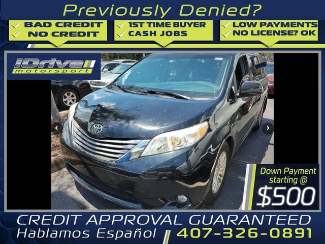 Toyota Sienna 2015 price $21,888