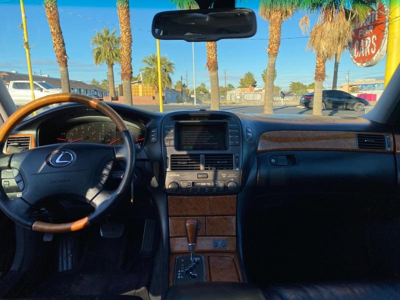 Lexus LS 430 2002 price $6,500